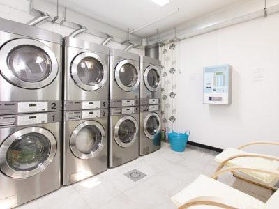laverie résidentielle d'immeuble